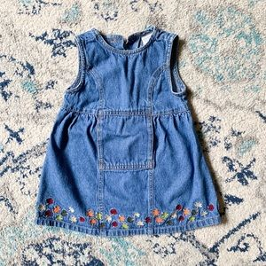 Class Club Baby Autumn Denim Dress